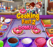 Hra - Cooking Fast 2 Donuts