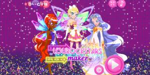 Hra - Lolirockstars Maker