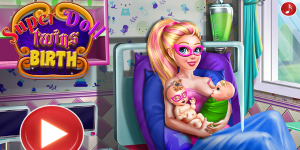 Super Doll Twin Birth