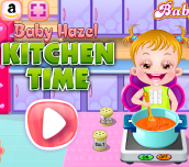 Hra - Baby Hazel Kitchen Time