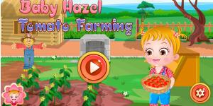 Hra - Baby Hazel Tomato Farming Html5