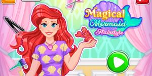 Hra - Magical Mermaid Hairstyle