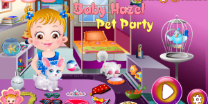 Hra - Baby Hazel Pet Party Html5