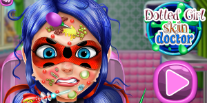 Hra - Dotted Girl Skin Doctor