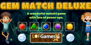 Hra - Gem Match Deluxe Html5