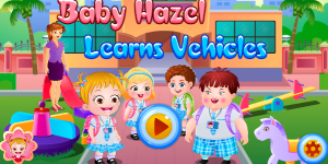 Baby Hazel Learns Vehicles Html5