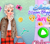 Hra - Eliza Winter Blogger Story
