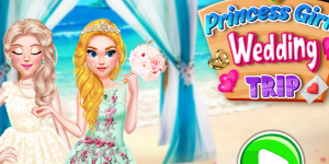 Hra - Princess Girls Wedding Trip