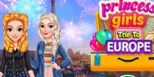 Hra - Princess Girls Trip To Europe