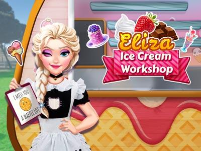 Hra - Eliza Ice Cream Workshop