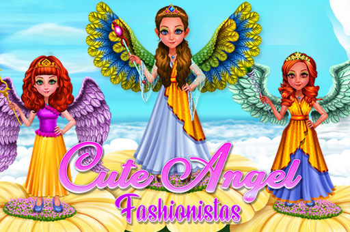 Hra - Cute Angel Fasionistas