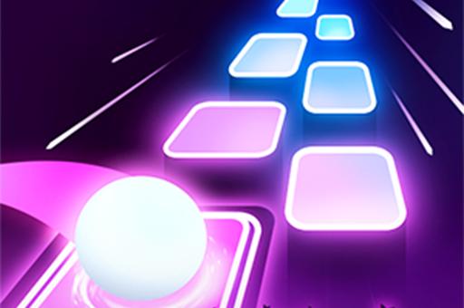 Hra - Tiles Hop: EDM Rush!