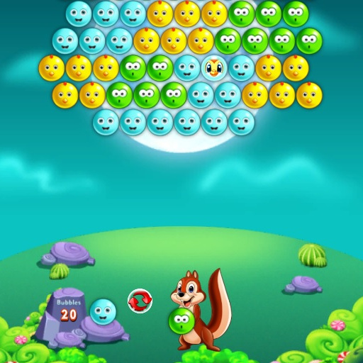 Hra - Cute Bubble Shooter