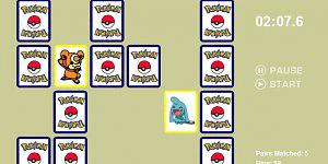 Hra - Pokemon pexeso