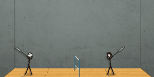 Hra - Stick Figure Badminton 2