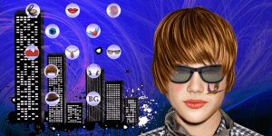 Hra - Justin Bieber Tattoos Makeover