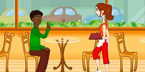 Caffe Waitress