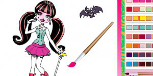 Hra - Monster High Coloring