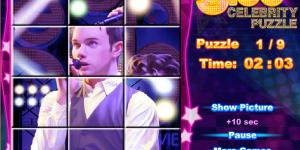 Glee Celebrity Puzzle