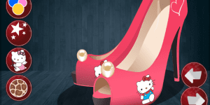 Hra - Hello Kitty Fan Shoe