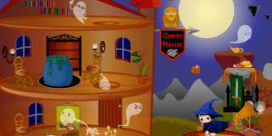 Hra - Halloween House Makeover 2