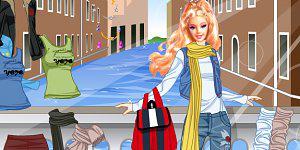 Oblékni Barbie 1