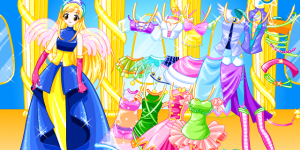 Angel Dressup 1
