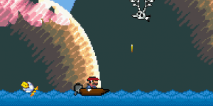 Hra - Super Mario Boat