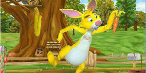 Hra - Pooh the Rabbit Gard