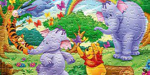 Hra - Pooh Jigsaw 7
