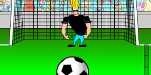 Hra - Johnny Bravo Goalie
