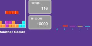 Purple Tetris