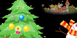 Hra - Ustroj vánoční stromeček