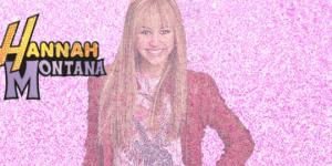 Hannah Montana pinkání
