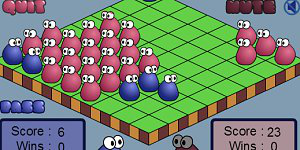 Hra - Blob Wars