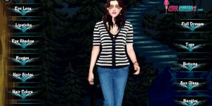 Hra - Kristen Stewart oblíkačka