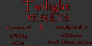 Hra - Twilight film kvíz