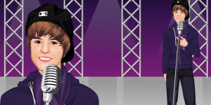 Justin Bieber na koncertě