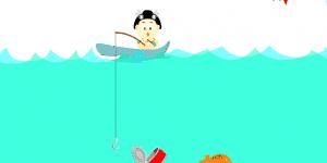 Hra - Rybaření v rybníčku