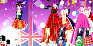 British gown