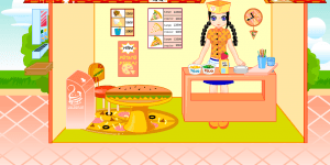 Hra - Pizza decoration