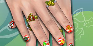 Hra - Christmas Nails