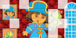 Hra - Sort my Tiles Dora the Pirate