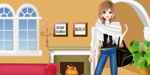 Winter Glam Dress Up