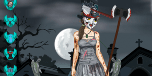 Hra - Zombie Girl Dress Up