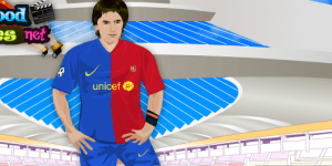Hra - Lionel Messi Dress Up