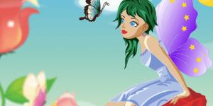 Pretty Butterfly Fairy