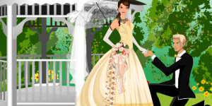 My Romantic Victorian Wedding Dress Up