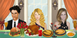 Thanksgiving Dinner With Justin And Selena