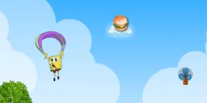 Flying Spongebob